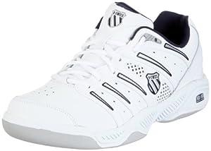 K-Swiss UPROAR IV CARPET 02743-167-M, Chaussures de tennis homme - Blanc-TR-F5-57, 41 EU