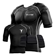 Titin Force Weighted Shirt System Black