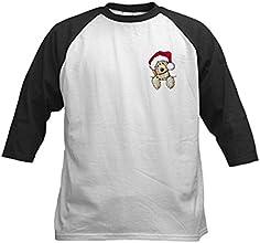 CafePress Kids Baseball Jersey - Christmas Pocket Doodle Kids Baseball Jersey