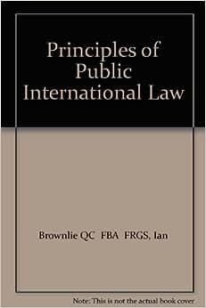 public international law brownlie pdf