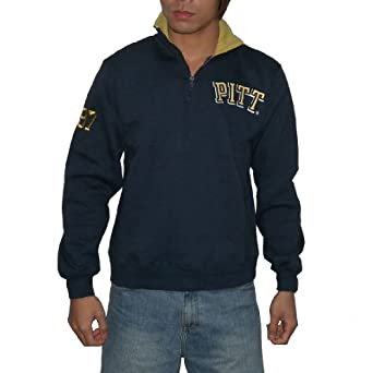 NCAA Mens Pittsburgh Panthers Athletic Pullover  Sweatshirt Jacket by NCAA
