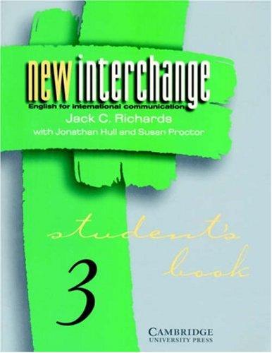 New Interchange Student's book 3: English for International Communication