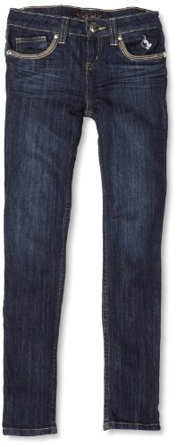 Baby Phat - Kids Girls 2-6X Skinny Jean, Dark Wash, 2T