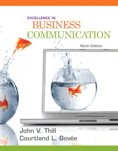 Excellence in Business Communication (9th Edition)