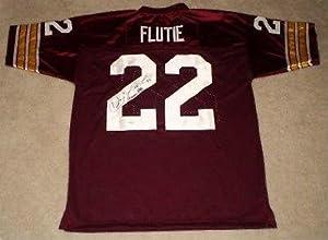 Signed Doug Flutie Jersey - Bc #22 W Heisman 84 - Autographed College Jerseys by Sports+Memorabilia