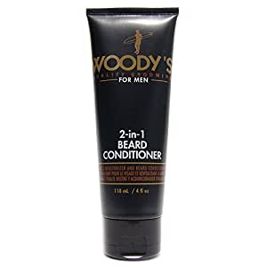 woody 39 s quality grooming for men 2 in 1 beard conditioner 4 oz health personal care. Black Bedroom Furniture Sets. Home Design Ideas