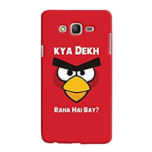 ColourCrust Samsung Galaxy ON7 Mobile Phone Back Cover With Kya Dekh Raha Hai Bay Quirky - Durable Matte Finish Hard Plastic Slim Case