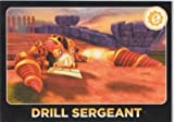 Skylanders Giants No. 046 DRILL SERGEANT - Power Screen Shot Individual Trading Card