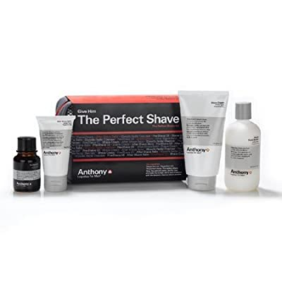 Cheapest Anthony The Perfect Shave Kit by Anthony Logistics For Men - Free Shipping Available
