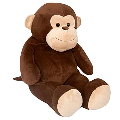 Toys R Us Plush 22 Inch Jumbo Monkey - Brown