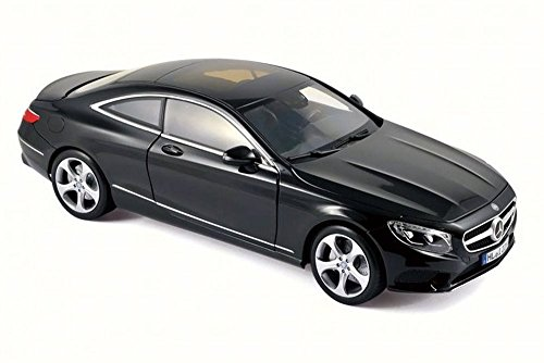 2014 Mercedes-Benz S Class Coupe, Black - NOREV 183482 - 1/18 Scale Diecast Model Toy Car (Mercedes Benz Model Cars compare prices)