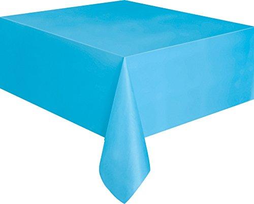 Partido Ênico 9 x 4,5 pies Mantel Plástico (Azul)