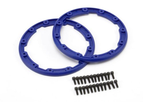 Traxxas 5666 Blue Sidewall Protectors, 2-Piece - 1