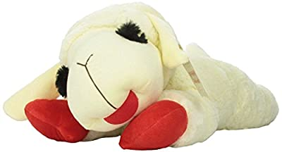 Multipet's Officially Licensed Lamb Chop Jumbo White Plush Dog Toy 24-Inch New