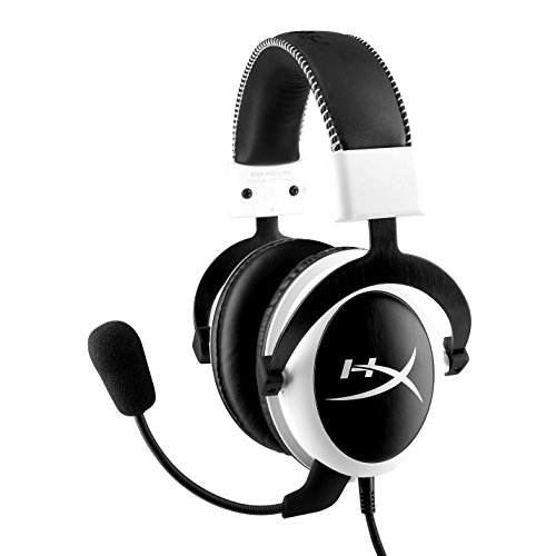 Get HyperX Cloud Gaming Headset - White (KHX-H3CLW)