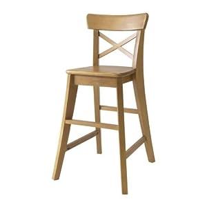 IKEA - INGOLF Junior chair, antique stain
