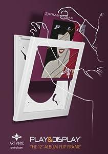 Duran Duran - Rio - Art Vinyl Play & Display Gift Pack with White Flip Frame, Vinyl Record & CD Album
