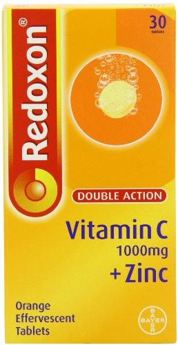 Redoxon Double Action Vitamin C + Zinc Orange Effervescent 30 Tablets