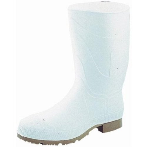 Norcross Safety 74928-11 PVC Safety Boot Size 11-white