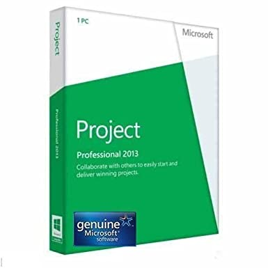 Microsoft Project Professional 2013 Download Digital Book Cover