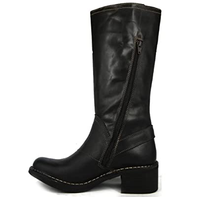 Fly London Freed Black Women Boots