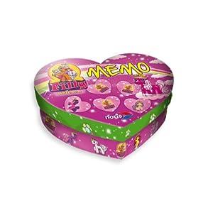 Schauen Sie sich Kundenbewertung für Noris-Spiele 606017357 - Filly Unicorn Herz-Memo
