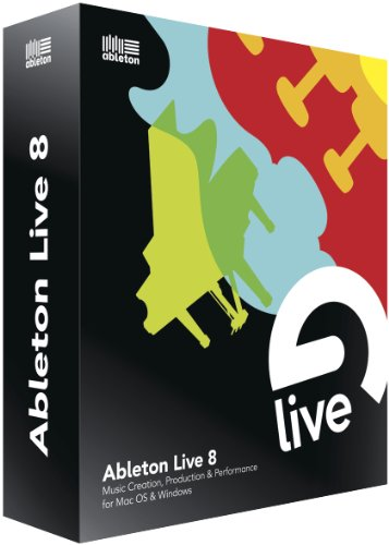 Ableton Live 8 - Now Includes Free Upgrade To Live 9 When Released In Feb 2013