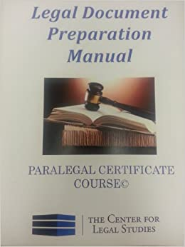 flip to back flip to front With legal document preparation manual for the paralegal certificate course