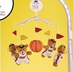 Miami Heat Baby Crib Team Mascot Mobile NBA Basketball
