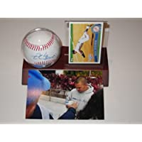 Nick Swisher New York Yankees Signed Autographed Baseball with Card Plus Holder Authentic Certified Coa