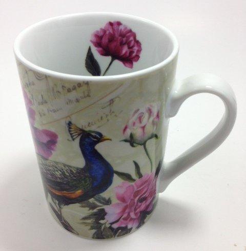 Beautiful Peacock Mug