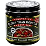 Better Than Bouillon Vegetarian No Beef Base, 8 oz. (Pack of 6)