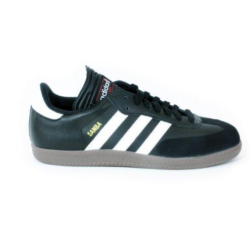 adidas Men's Samba Classic Soccer Shoe,Black/Running White,8.5 M