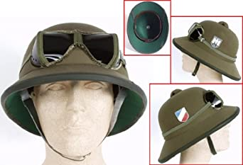 Ww2 German Army Dak Afrika Korps Tropical Pith Helmet