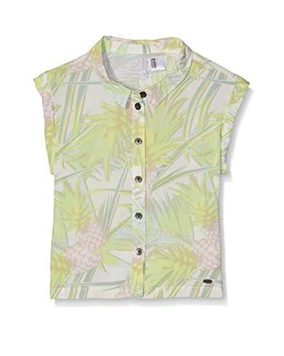 O'Neill Camisa Niña Lg Pineapple Fest S/Slv Negro / Blanco