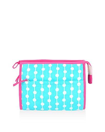 Malabar Bay Dottie Aqua Cosmetic Bag