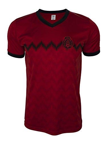 Rass Sport Soccer Jersey Copa America Centenario - MEXICO - MDYG0488-RED-L/XL