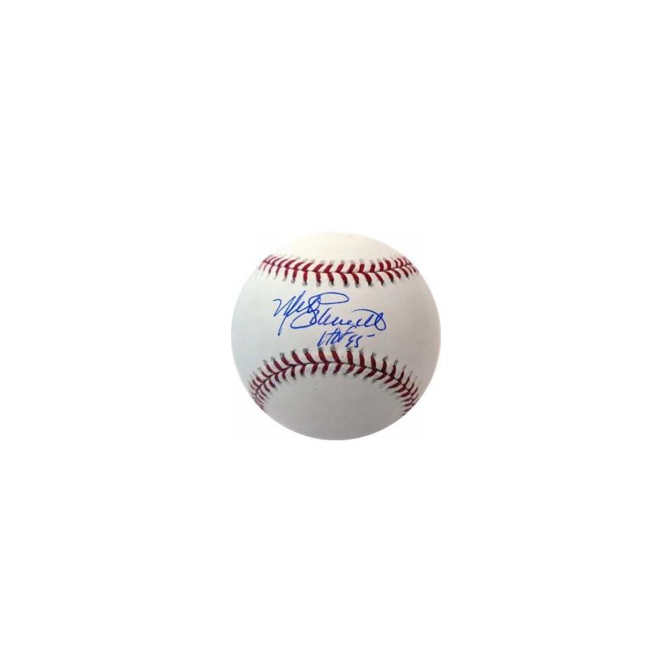Mike Schmidt Hand Signed HOF Baseball