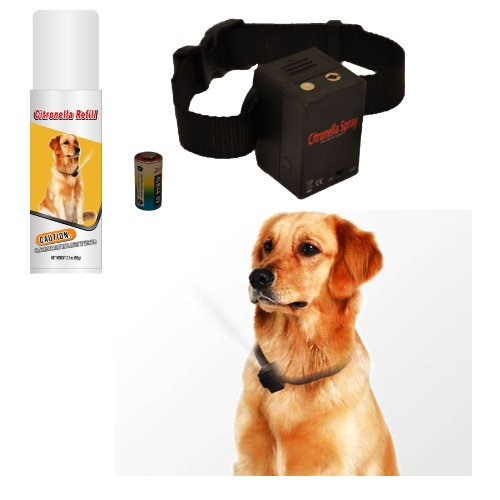 NO BARK Collar Citronella Spray Anti-Bark