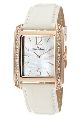 Lucien Piccard Women's 11593-RG-02M Coca White Mother-Of-Pearl Dial Watch