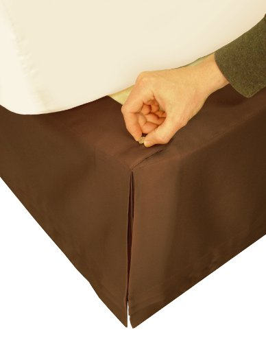 Veratex Adjustable Bed Skirt C.King, Chocolate