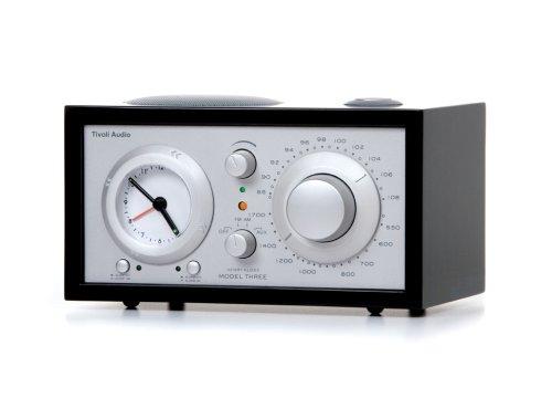Tivoli Audio M3Piano Platinum Series Model Three Am/Fm Clock Radio (Piano Black/Silver)