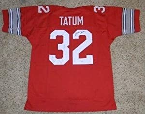 Autographed Jack Tatum Jersey - Osu Ohio State Buckeyes #32 - JSA Certified -...