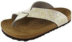 Birki's Cancun Yellow Floral Women's Sandals EU36 / US5