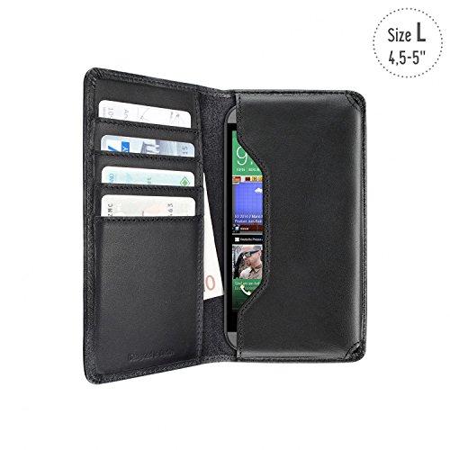 5514-1312 Universal Wallet Case  geeignet für Smartphone  4 5 bis 5 Zoll   schwarz