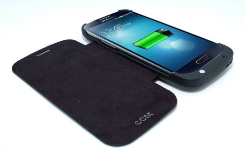 Battery Case  built in Flip Cover Case for Samsung