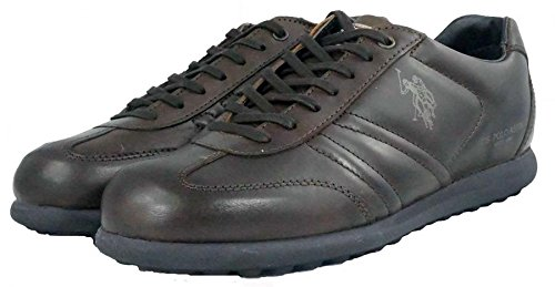 us-polo-association-zapatos-de-cordones-de-piel-para-hombre-marron-size-41