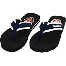 Chicago Bears Men's Contour Flip Flop Sandals