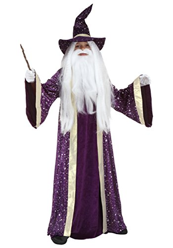 Kids Wizard Costume Small