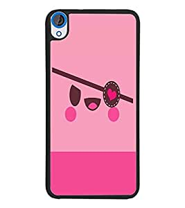 PrintDhaba Cartoon D-4399 Back Case Cover for HTC DESIRE 820 (Multi-Coloured)